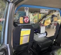 Da Reale Group un contributo per installare divisori nei taxi