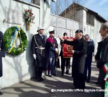 Commemorazione del Maresciallo Berardi