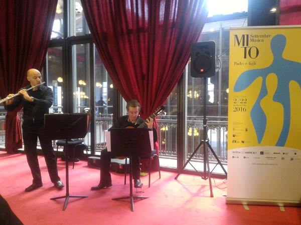 Concerto durante la presentazione di MiTo 2016