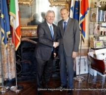 Incontro con l'Ambasciatore australiano Mike Rann