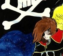 """Space Art – Opere originali di Leiji Matsumoto, """"il papà"""" di Capitan Harlock"""