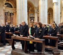 San Sebastiano, Patrono della Polizia Municipale. Celebrazione in Duomo