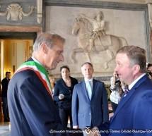 Il primo ministro bielorusso ricevito dal sindaco Fassino