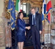 La vicepresidente peruviana a Palazzo Civico