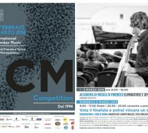 Presentazione della XV^ edizione dell'International Chamber Music Competition