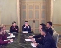 Delegazione cinese ricevuta a Palazzo Civico