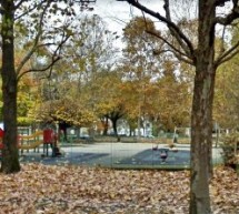 Cantiere aperto nel parco giochi intitolato a  Don Giuseppe Pollarolo