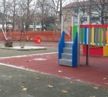 Rinnovata l'area giochi di piazza Don Pollarolo