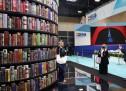 Lo stand di Città di Torino e Città Metropolitana al Salone del Libro