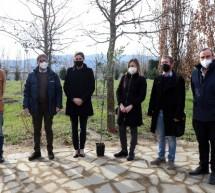 Covid, un bosco al cimitero Monumentale in memoria delle vittime