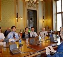 Una delegazione della città di Jinan in visita a Torino