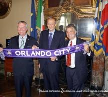 A Palazzo Civico incontro tra Piero Fassino e Buddy Dyer,  sindaco di Orlando