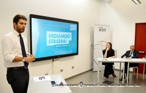 L'Assessore Lavolta, il Sindaco Fassino e la direttrice dello IAAD Laura Milani