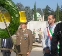 Il ricordo dell'8 settembre al cimitero Monumentale