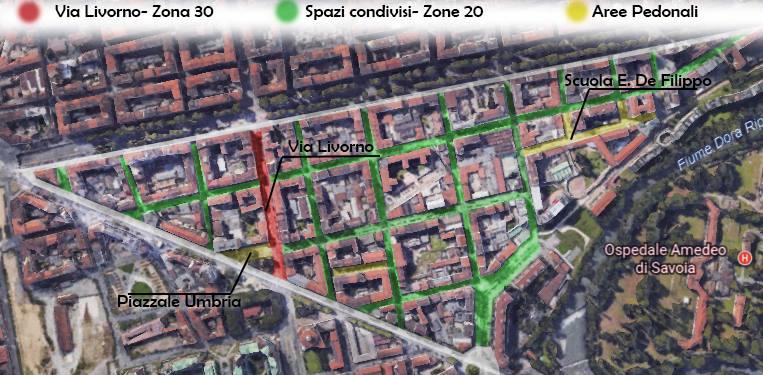 Torino spazio condiviso un progetto per basso san donato for Spazio arredo torino