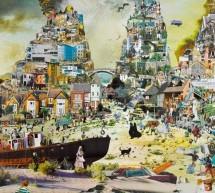 Alla Promotrice i giganteschi collage di David Mach