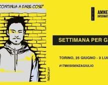 """Al via la """"Settimana per Giulio"""""""
