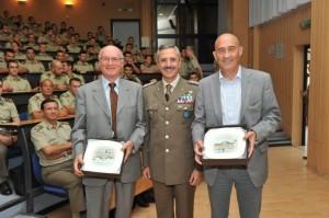 Il Generale Ruggiero insieme a Berruti e Damilano