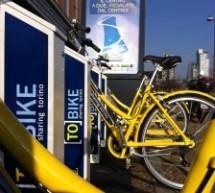 Nuova postazione bike sharing in  via Livorno