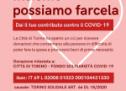 Solidarietà alimentare: la Città di Torino apre un conto corrente per la raccolta fondi
