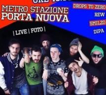 Un pomeriggio rap nella metro a Porta Nuova
