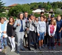 Inaugurato il cortile della scuola Gozzi-Olivetti