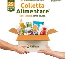 Il 25 novembre è la Giornata Nazionale della Colletta Alimentare