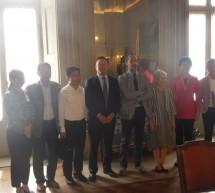 La delegazione di Anhui in visita a Torino