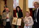 Medaglia in memoria di Dalmiro e Verbena Costa