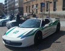 La Polizia municipale al Salone dell'Auto