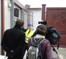 Al Filadelfia la visita della France Television Alpes 3