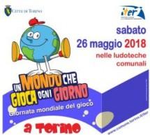 Giornata mondiale del gioco: sabato aperte le ludoteche comunali