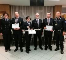 Medaglia di bronzo per i vigili del GSPM di Torino