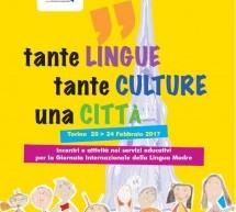 Giornata Internazionale della Lingua Madre, le iniziative della Città