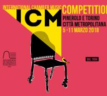 Al via lunedì 5 marzo l'International Chamber Music Competition
