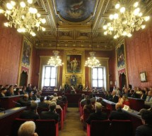 La cerimonia in Sala Rossa (foto)