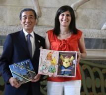 Visita del console giapponese a Palazzo civico