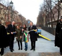 Corso Galileo Ferraris, inaugurato il parcheggio sotterraneo