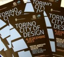 Al via il 4 dicembre la prima edizione di 'Torino City of Design'