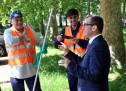 AxTO: il lavoro di due operatori ecologici speciali in Piazza Sofia