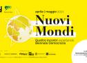 Aspettando 'Biennale Democrazia': ad aprile 'Nuovi Mondi', 4 appuntamenti online