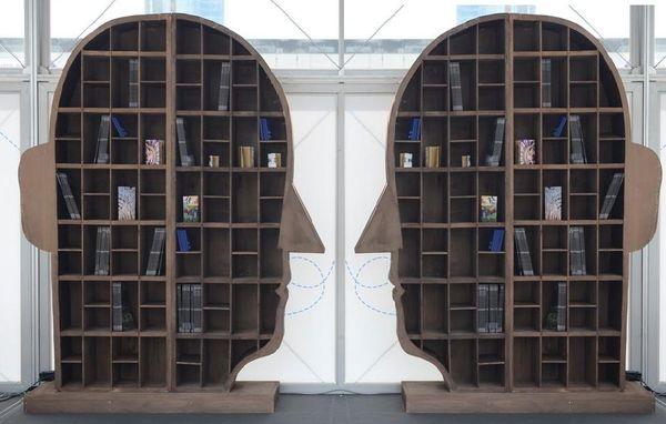 La libreria di Agostino Iacurci_foto di Daniele Vico