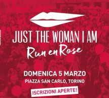 Aperte le iscrizioni per 'JUST THE WOMAN I AM' 2017