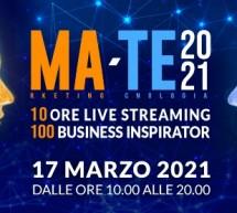 MA-TE 2021, il 17 marzo la maratona digitale dedicata al marketing e alla tecnologia