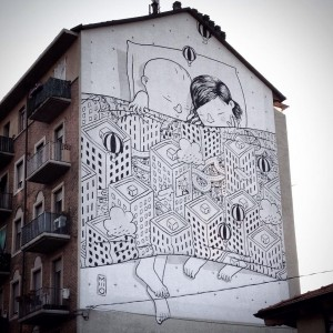 MILLO - murales via  bottesini