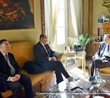 L'ambasciatore tunisino da Fassino