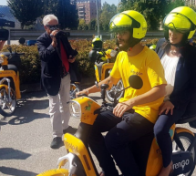A Torino ilprimoserviziodiscootersharing ecosostenibilee made in Italy