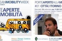 Mobility Week, l'incontro di stamani con l'Assessore Lubatti ed il programma di domani