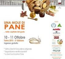 """Il 10 e l'11 ottobre a Torino la seconda edizione di """"Una Mole di Pane"""""""