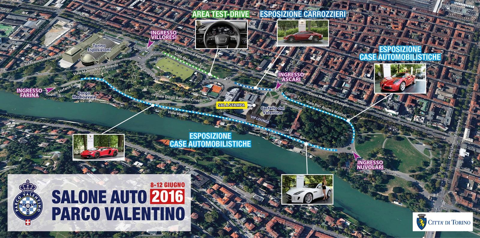 2019 Gran Torino >> Salone dell'auto e Gran Premio, bis a Torino nel 2016 – TorinoClick